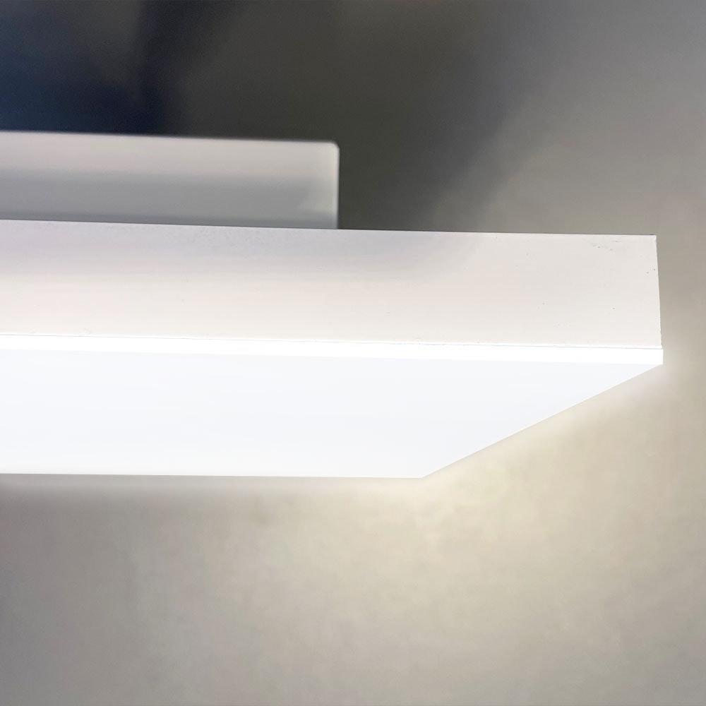 Q-Flat 2.0 rahmenlose LED Deckenaufpanel 120 x 30cm 3000K 2