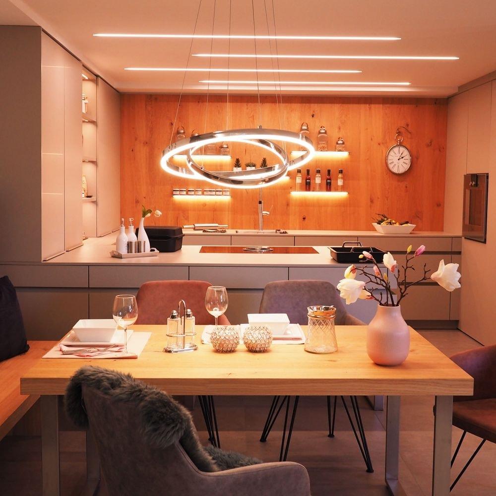 helle und moderne Küchenbeleuchtungen