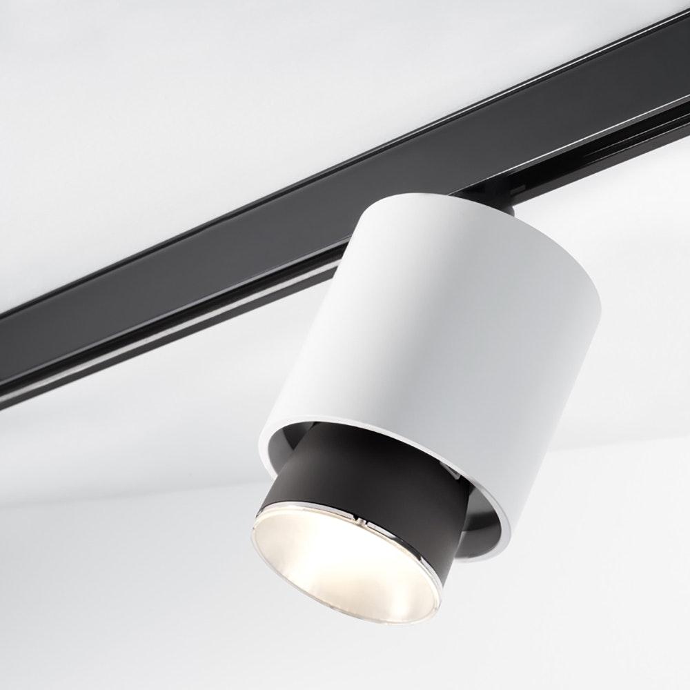 Fabbian Claque LED-Schienenleuchte Ø 10cm 1