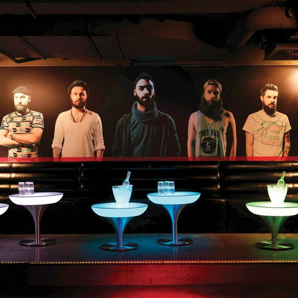 Moree Lounge M 45 LED Tisch mit Akku 3