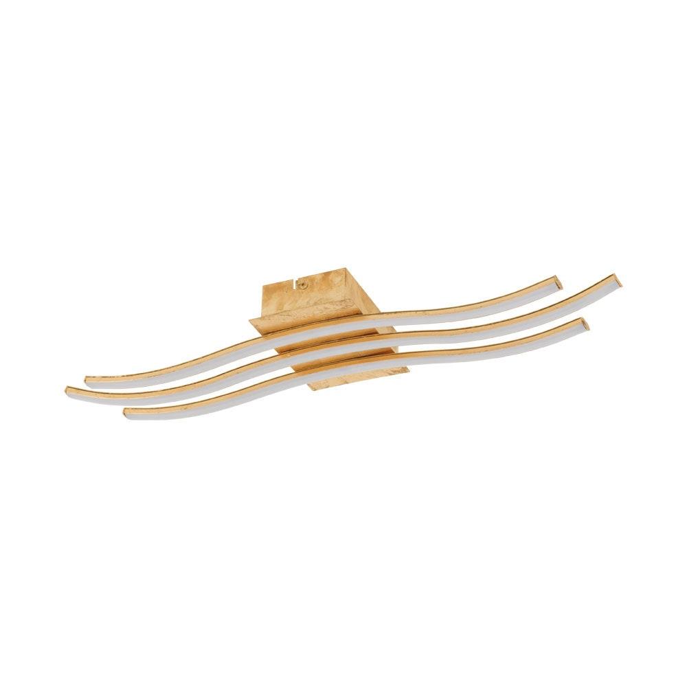 LED Wand- & Deckenleuchte Miraflores Gold