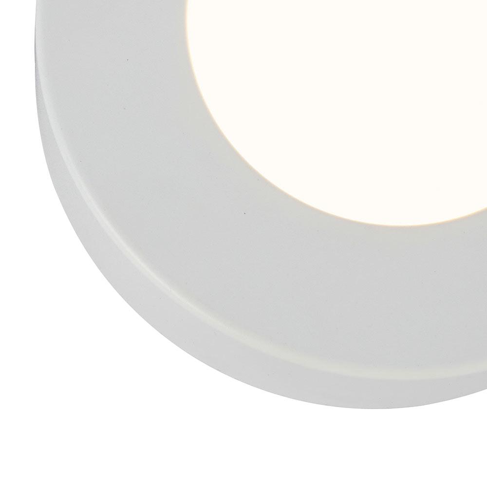 LED Deckenleuchte Paula Weiß, Opal 5