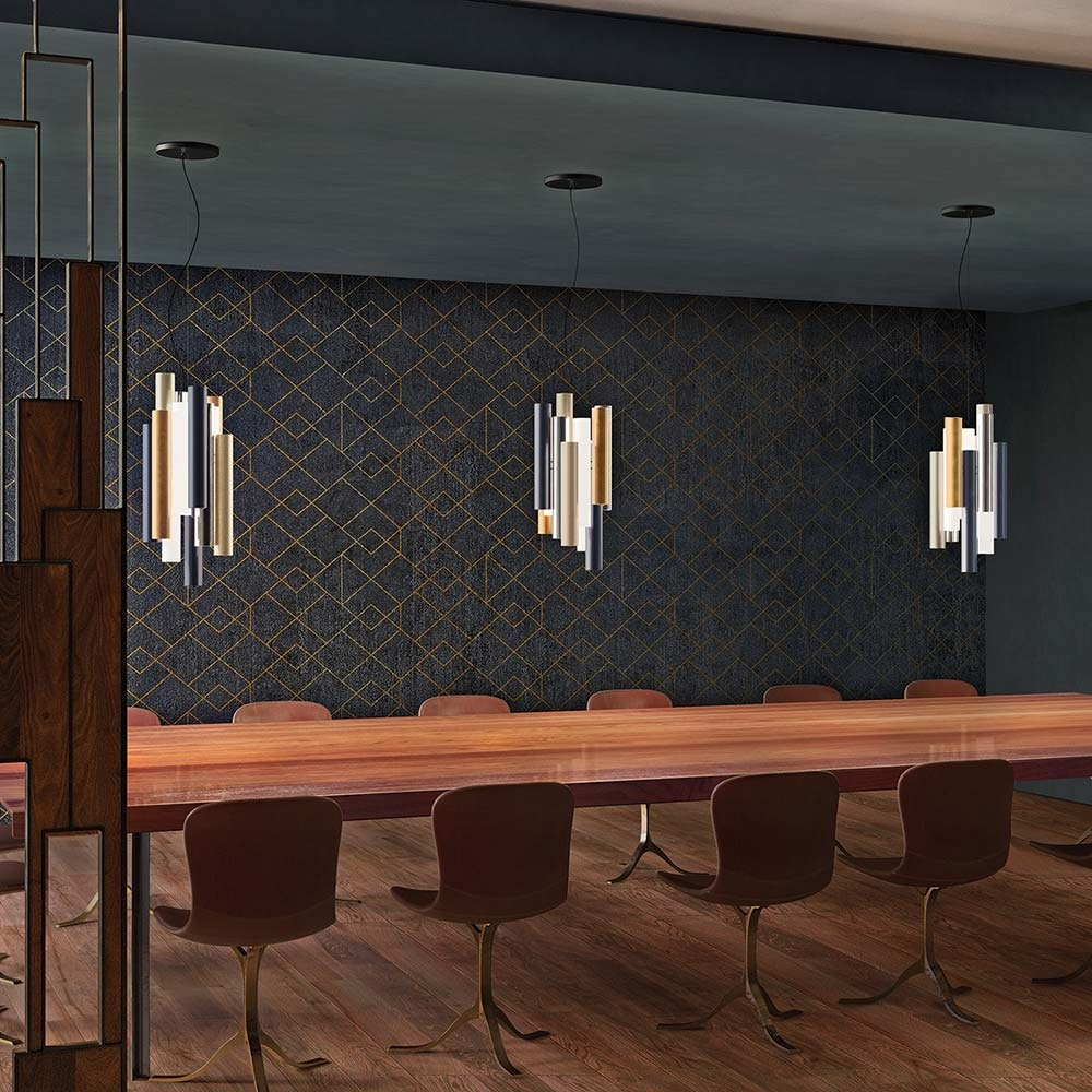 Kundalini LED Design-Hängelampe Toot 51cm Mehrfarbig Dimmbar 2