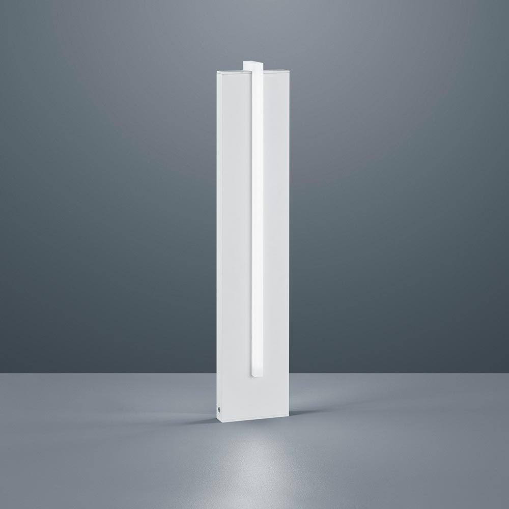 Helestra LED Außenstandlampe Oki IP54 2805lm Mattweiß 1
