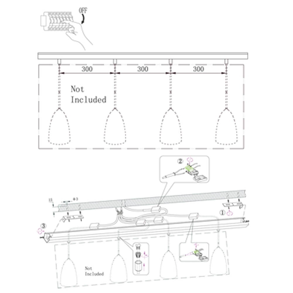 Elegante Combo Metall-Schiene in Weiß thumbnail 4