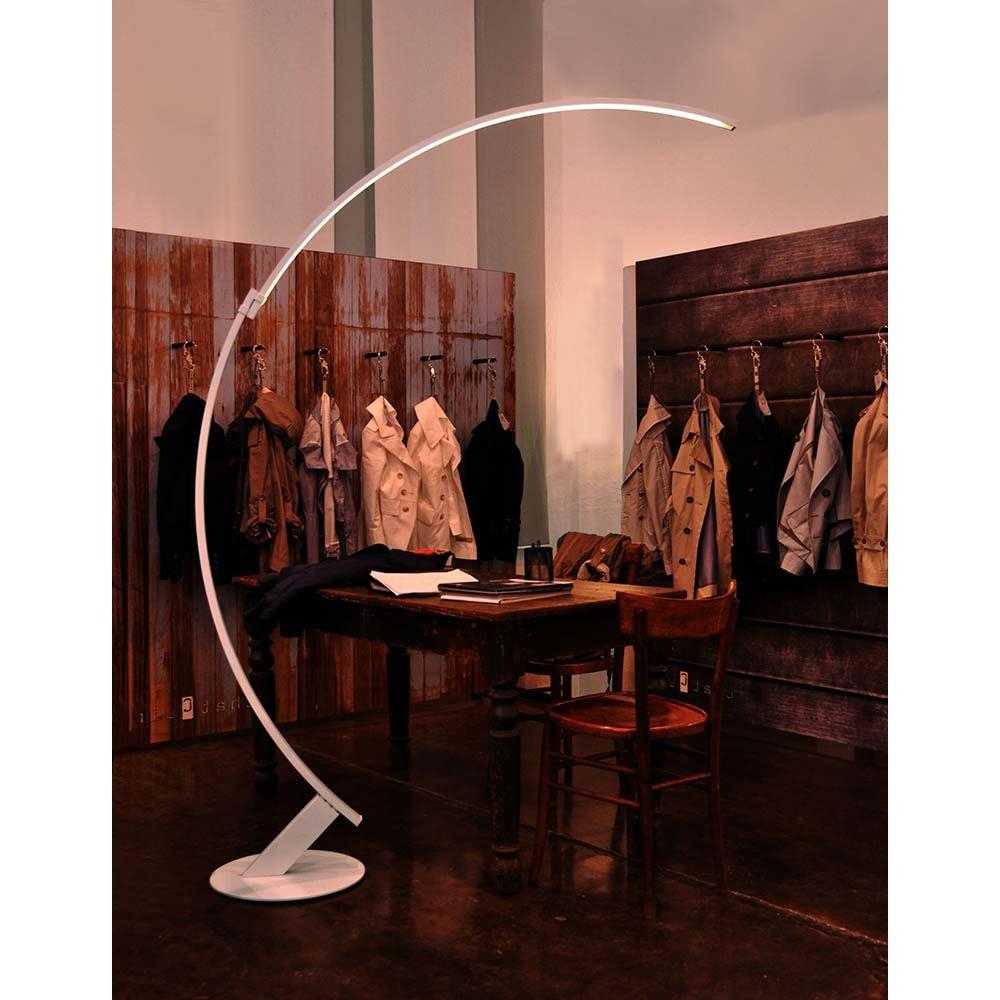 Kundalini LED Bogen-Stehlampe Kyudo Dimmbar thumbnail 5