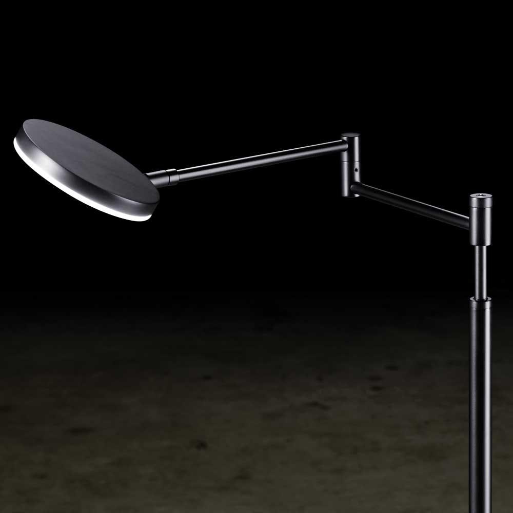 Holtkötter LED-Stehlampe Plano B mit Tastdimmer Schwarz thumbnail 3