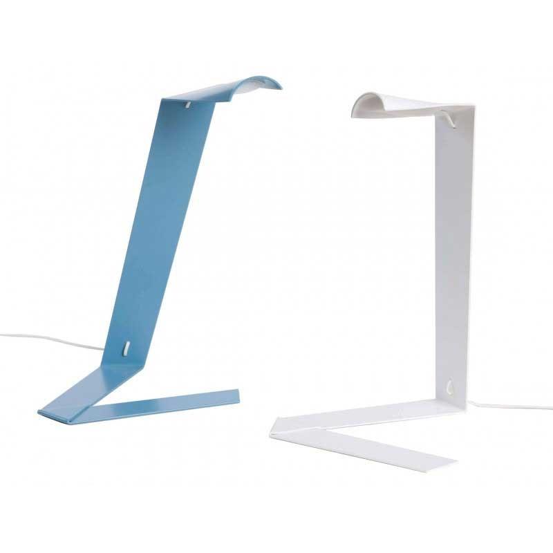 Prandina extravagante LED Tischlampe Elle T1 Blau
