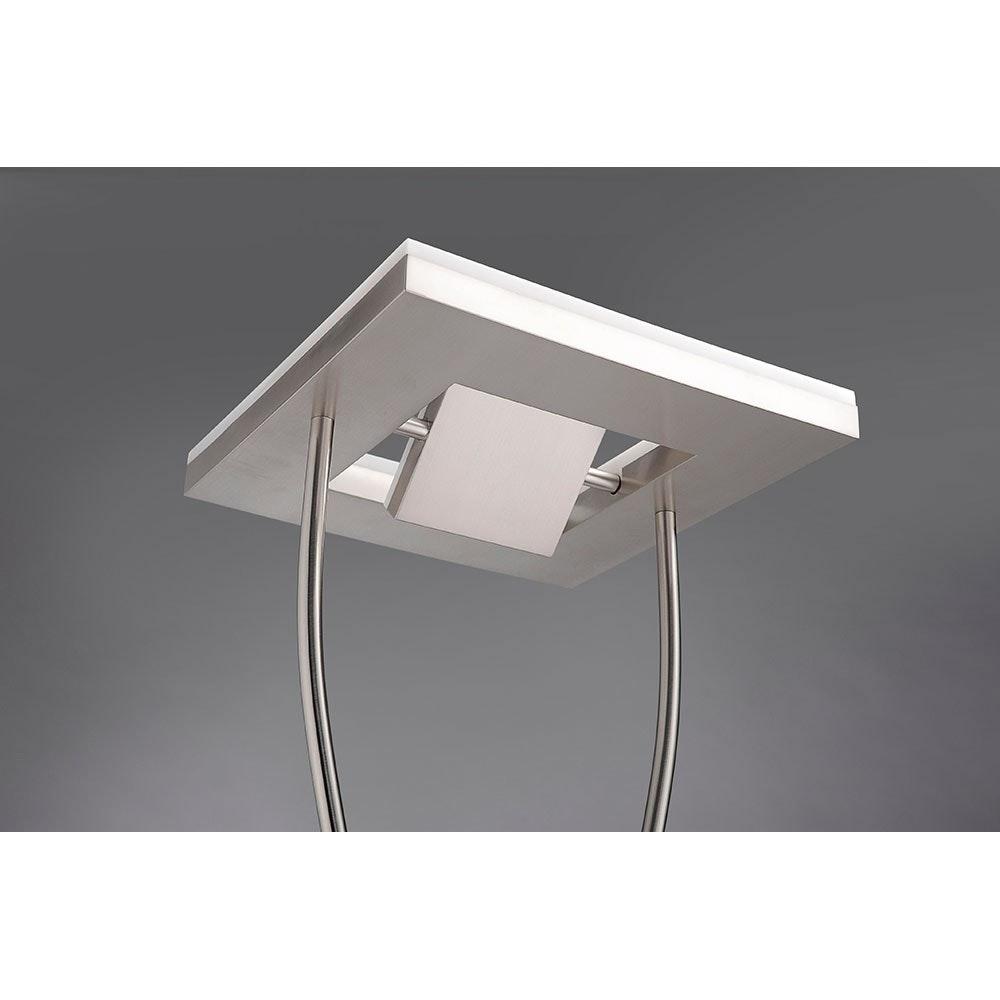 Helia LED Stehleuchte dimmbar 20W + 2x 4W 3000K 6
