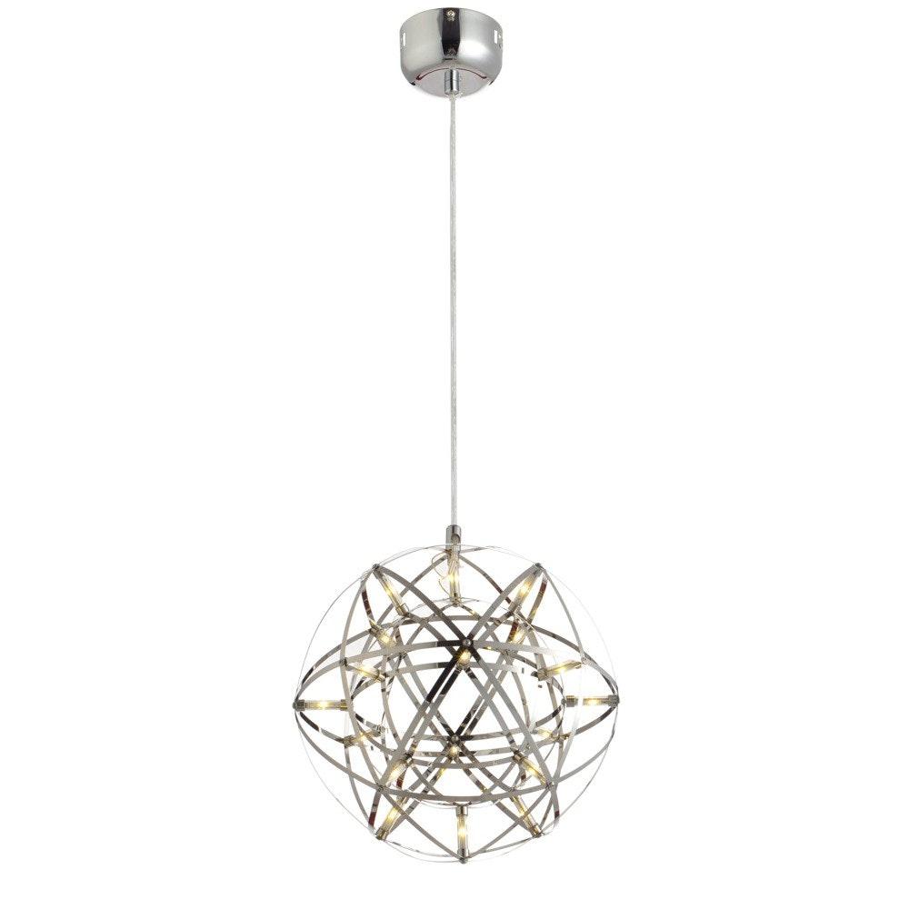 s.LUCE pro Atom 30 dimmbare LED-Hängeleuchte Metallkugel 3