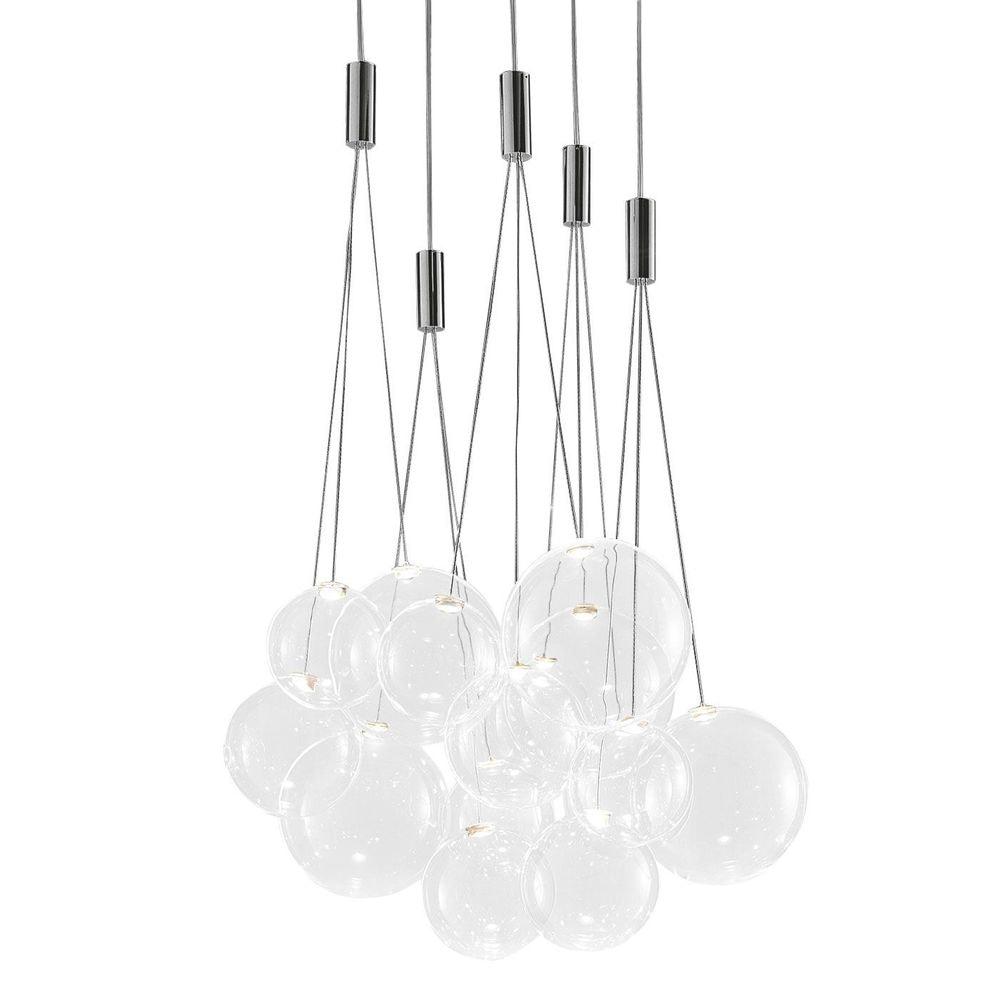 Studio Italia Design Random LED 3er Hängeleuchte thumbnail 3