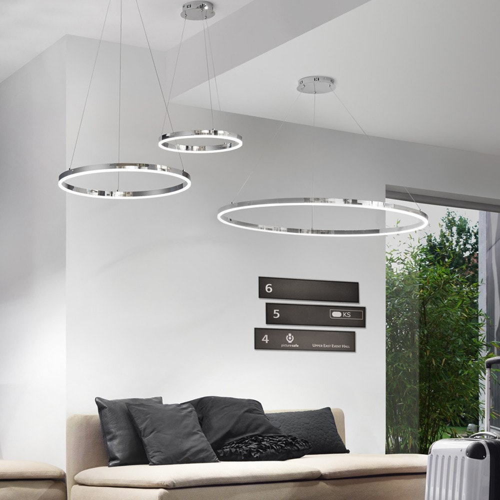 s.LUCE Ring 100 LED Hängelampe Dimmbar 20