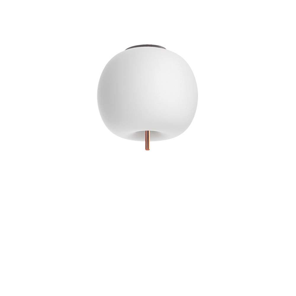 Kundalini Opalglas LED Deckenlampe Kushi Ø 16cm thumbnail 5