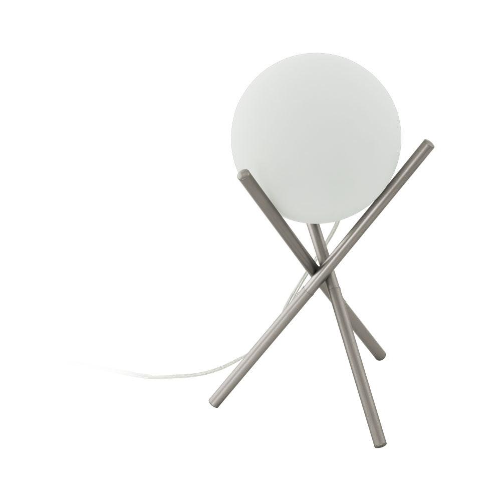 Licht-Trend Tischlampe Londrina Champagner, Weiß 2
