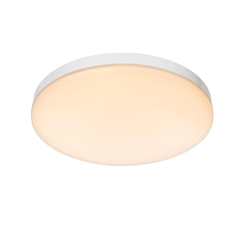 Licht-Trend LED Deckenleuchte Relge IP44 Ø 24cm Weiß 2