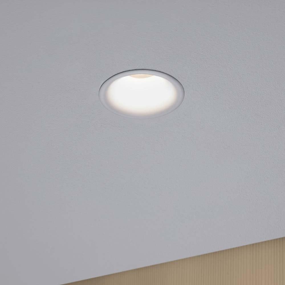 3er-Set LED Einbaulampen Cymbal Coin Warmdimmfunktion IP44 Weiß 3
