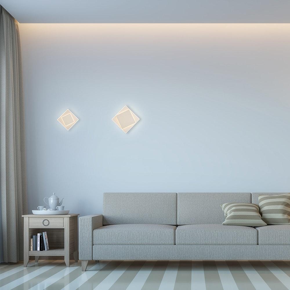 Mantra Dakla große LED-Wandlampe 1