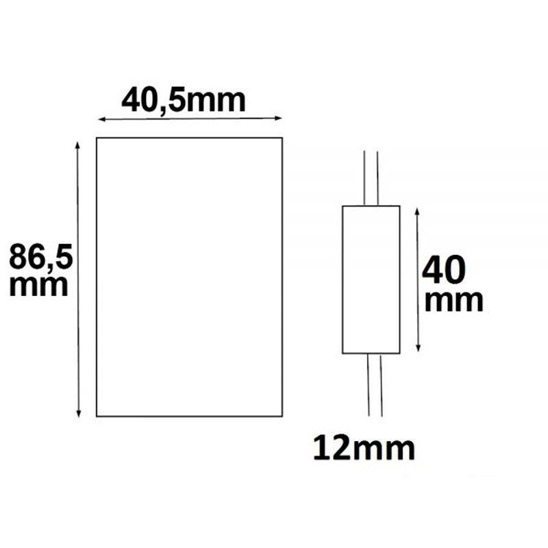 LED Strip Mini Funk Dimmer mit FB 2