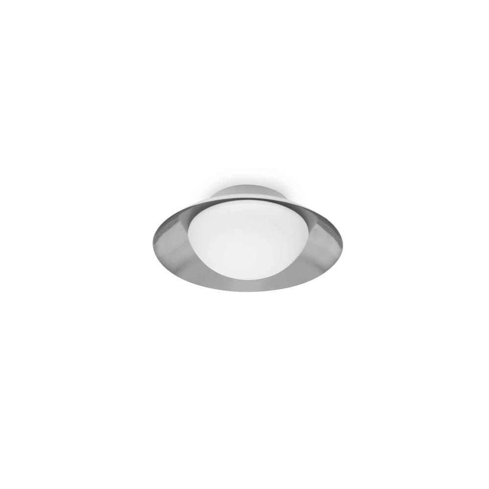 Deckenleuchte SIDE IP20 Weiß, Nickel
