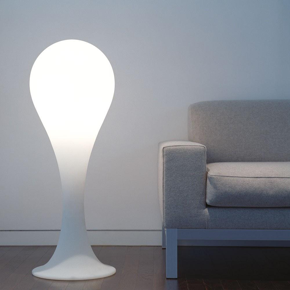 Drop_4 Stehleuchte H: 100cm Liquid-Light Weiß 1