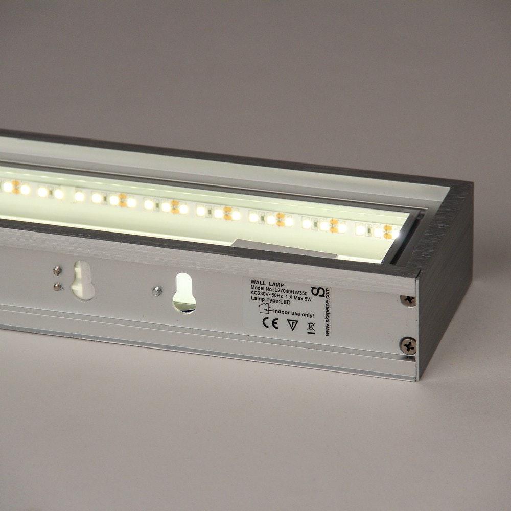 s.LUCE Cusa LED-Lichtboard 70cm Wandleuchte Up&Down Alu-gebürstet 14