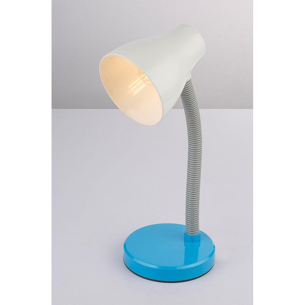 LED Tischleuchte Flynn Flexo Blau, Weiß 6