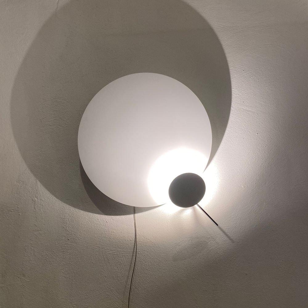 Ingo Maurer LED Wandlampe Eclipse Ellipse Ø 60cm