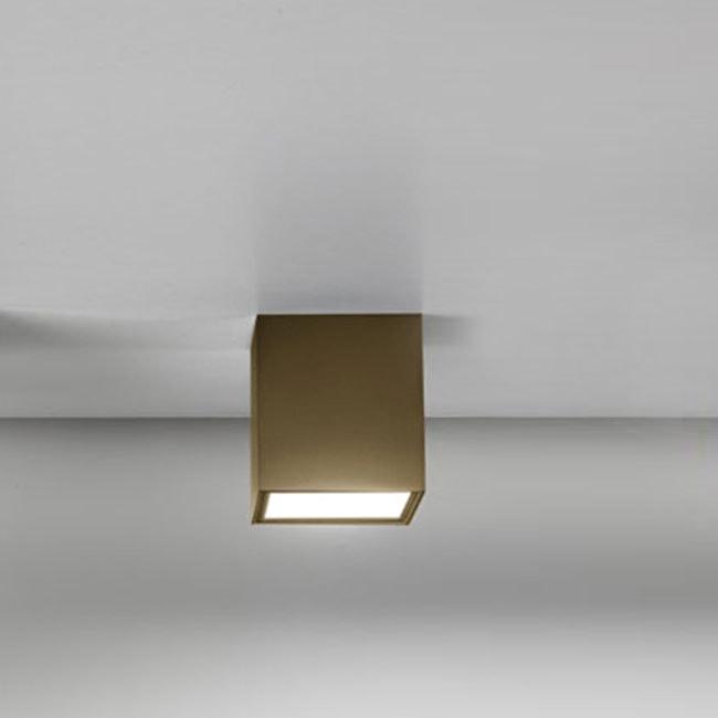 Panzeri Three LED-Deckenlampe Würfelform 1