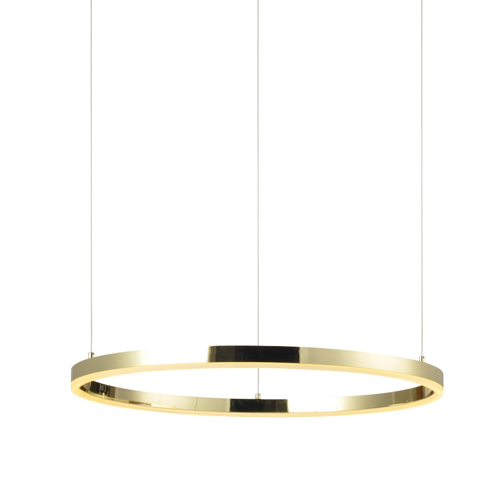 s.LUCE Ring 100 LED Hängelampe 5m Abhängung 15