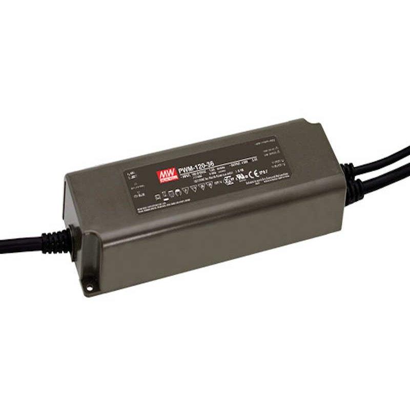 120W zertifiziertes Einbaunetzteil Dali Dimmbar 24V IP67