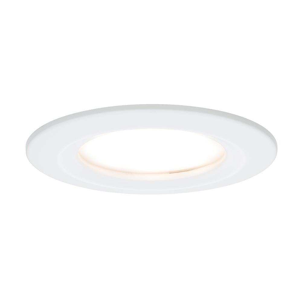 3er LED Einbauleuchten-Set Coin Slim IP44 rund 6,8W Weiß 1