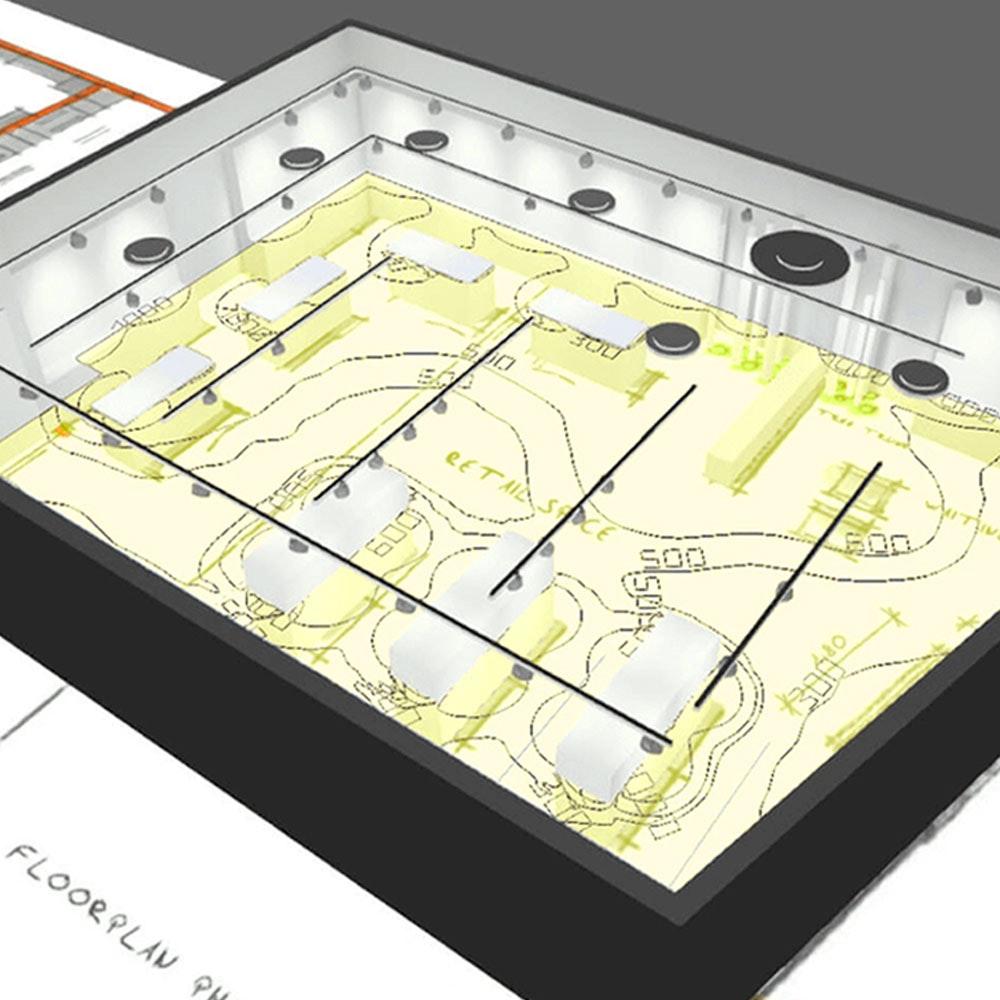 3D-Simulation Ihres Beleuchtungs-Szenarios 8 € je m² Wohnraum 1