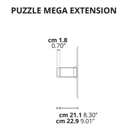 Lodes Puzzle Mega Verlängerung für Wand- & Deckenlampe 2