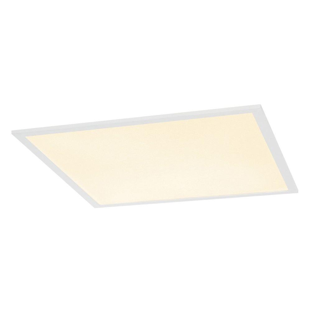 SLV I-Vidual Premium LED Panel für Rasterdecken 62x62cm 3000K Weiß 1