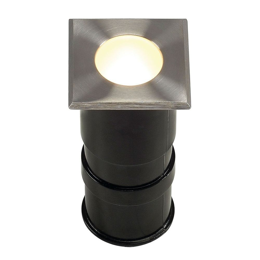 SLV Power Trail-Lite Square Edelstahl 316 1W LED 3000K IP67 1