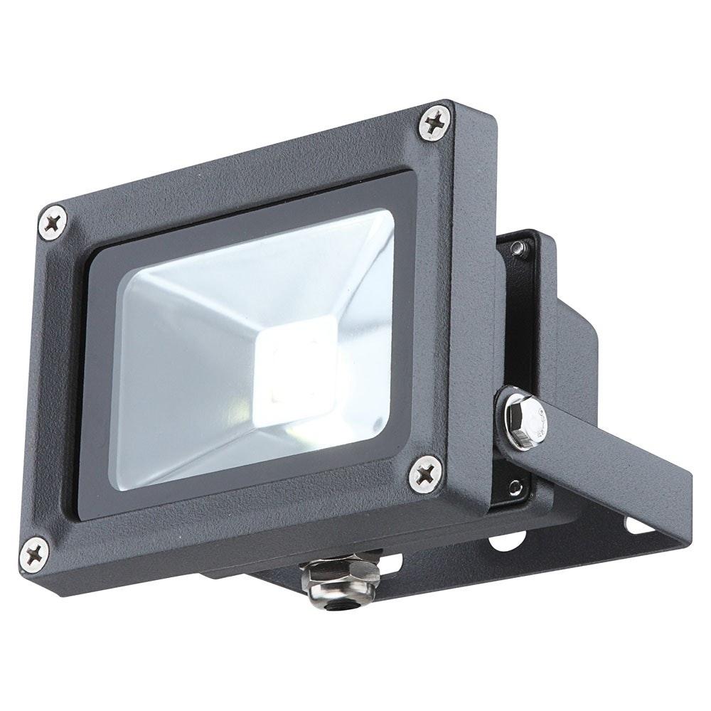 Projecteur Baustrahler Aluminium Druckguss Dunkelgrau LED
