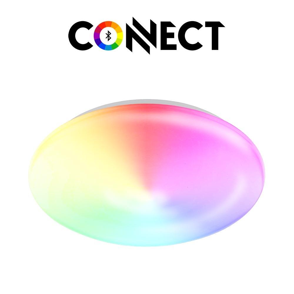 Connect LED Deckenlampe Ø 30cm 2100lm RGB+CCT 2