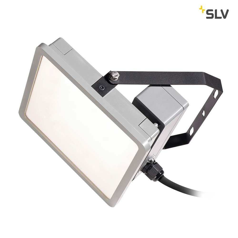SLV Almino LED Aussen-Wandleuchte Grau IP65 1
