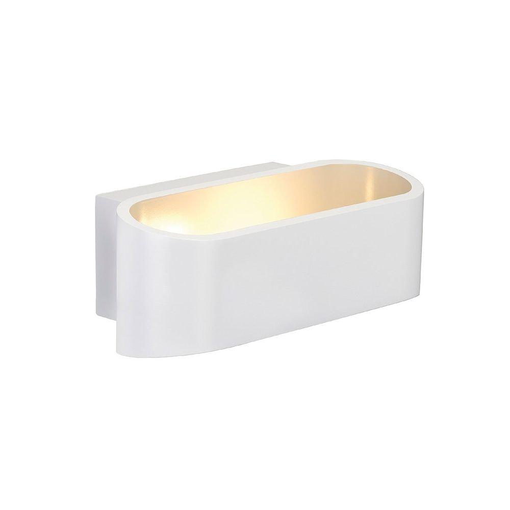 SLV ASSO LED Wandleuchte Oval weiss 5W LED 3000K 1
