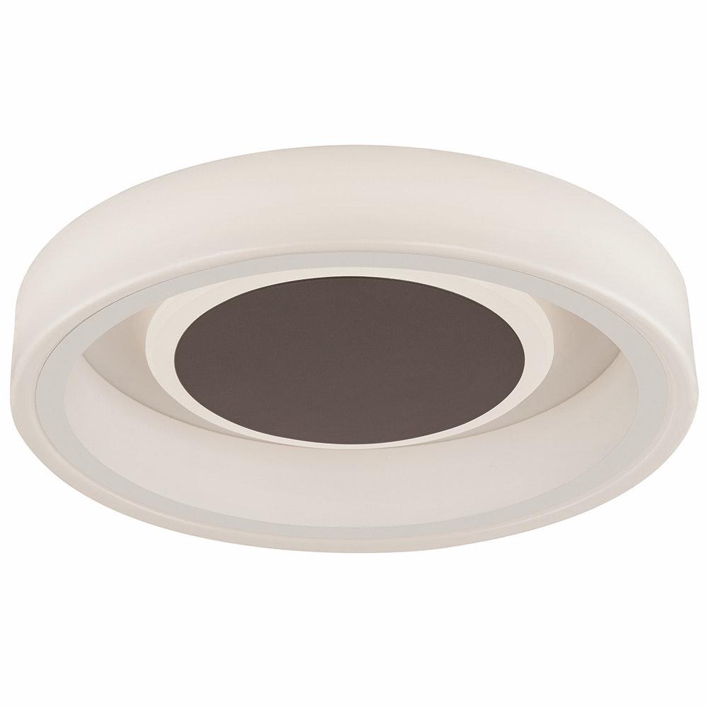 Mantra Moca LED-Deckenleuchte Weiß, Mokka 2