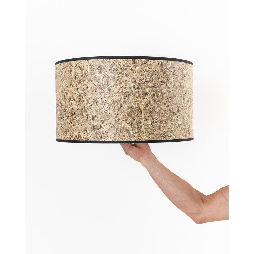 Lampenschirm aus Heu Ø 48,5cm 1