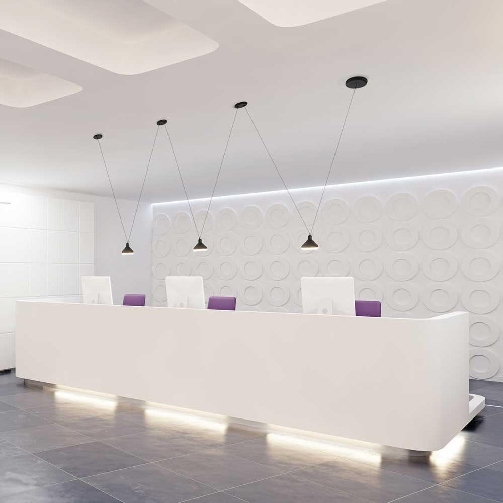 Mantra LED-Hängeleuchte Antares 4
