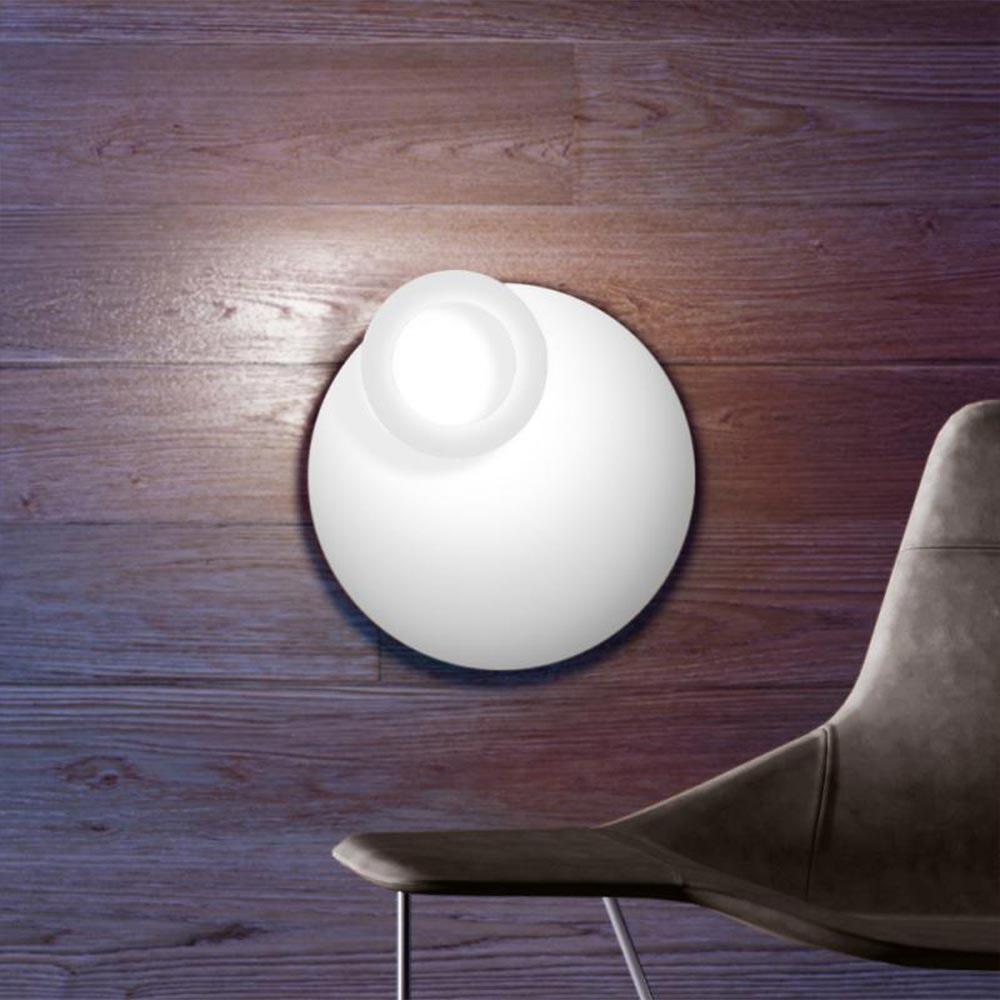 Icone LED Deckenleuchte Vera Ø 66cm Weiß