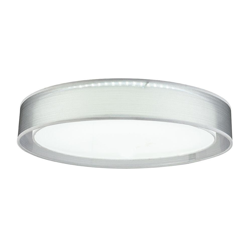 LED Deckenleuchte Theo CCT 3000-6000K Höhe Schirm 10cm Nickel-Matt, Grau, Satiniert 6
