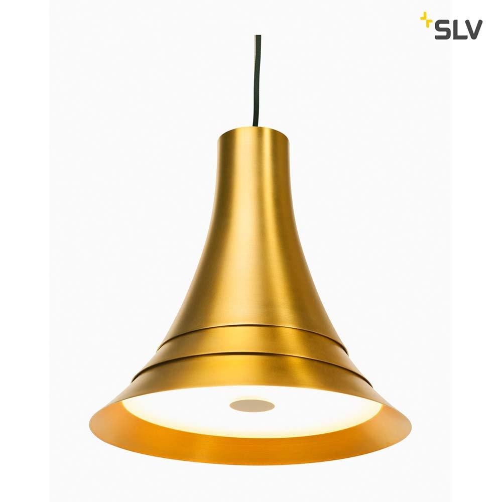 SLV Bato 35 LED Pendelleuchte Messing 8