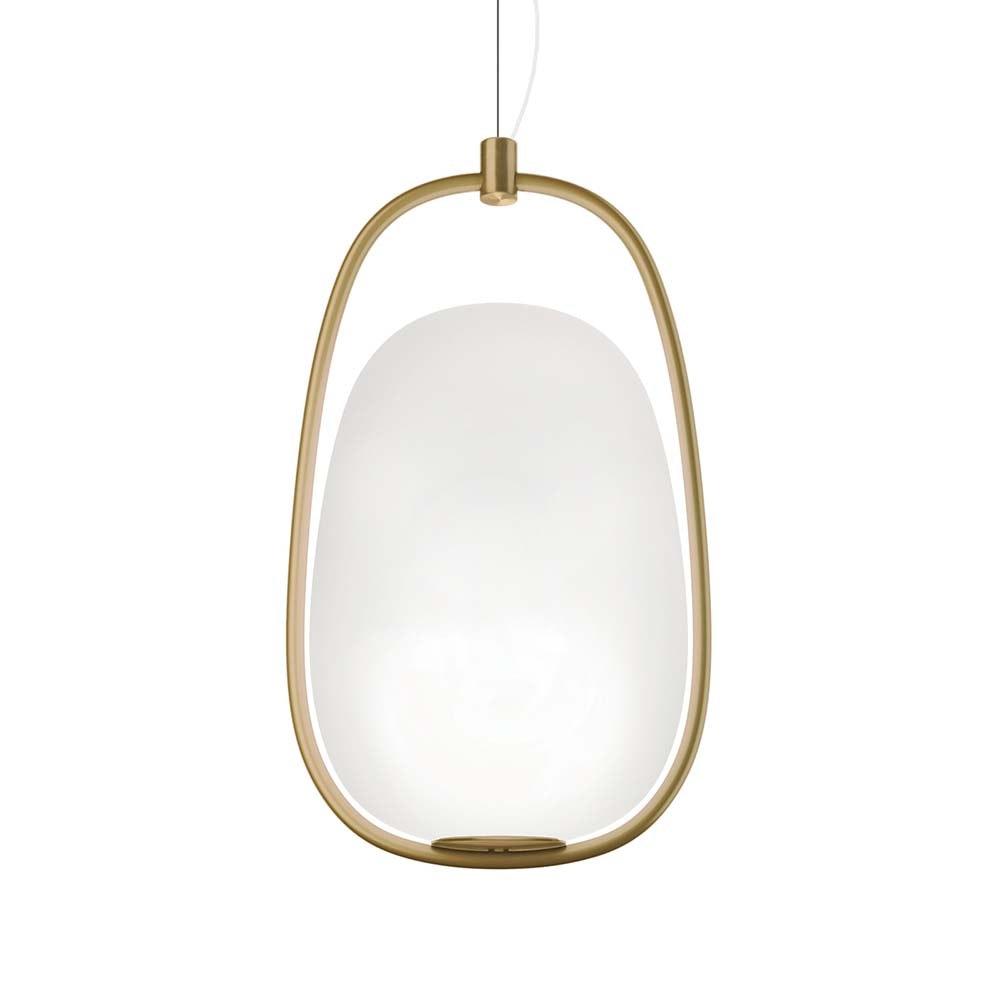 Kundalini Pendellampe Lanna Ø 22cm H 40cm Opalglas 2