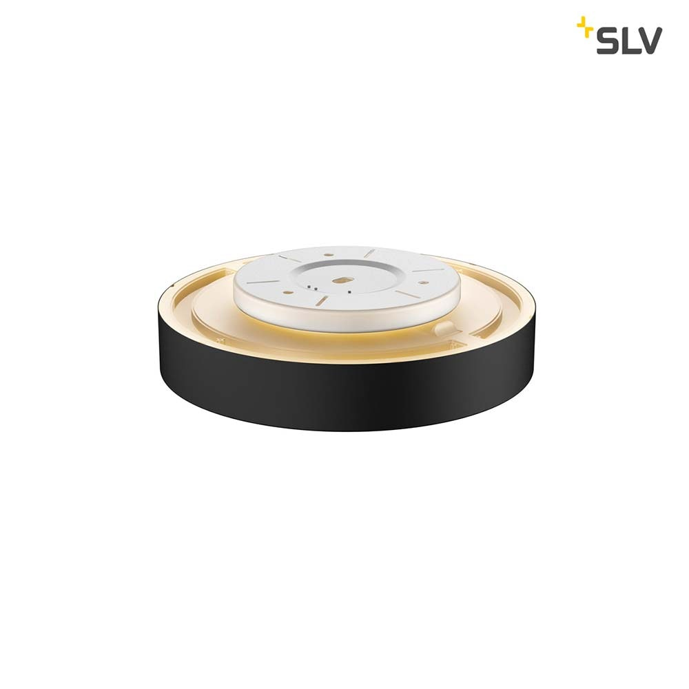 SLV Medo 40 Corona LED Aufbauleuchte Triac Schwarz 3