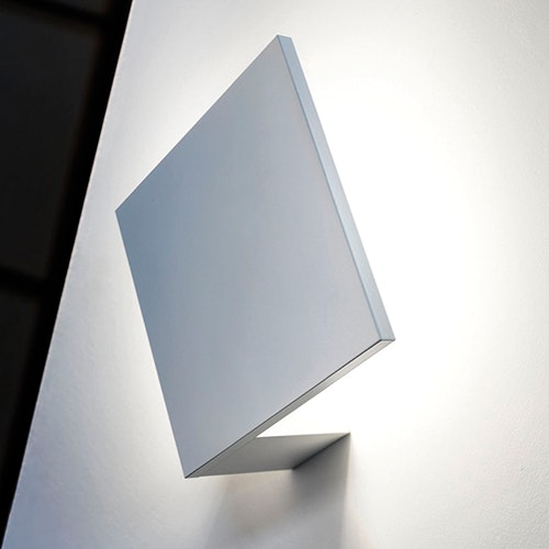 Studio Italia Design Puzzle eckig 18cm LED Wand- & Deckenleuchte