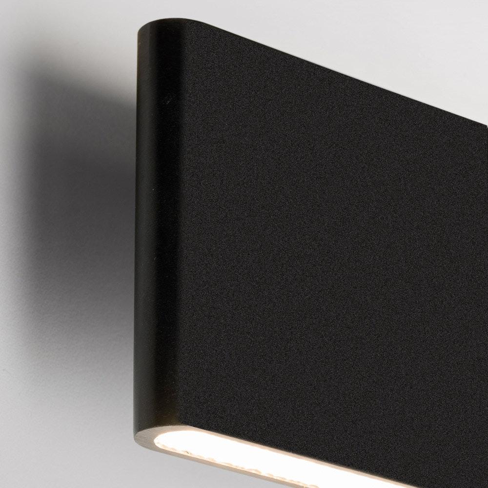 Slim LED-Wandleuchte Up&Down 540lm Schwarz eloxiert 5