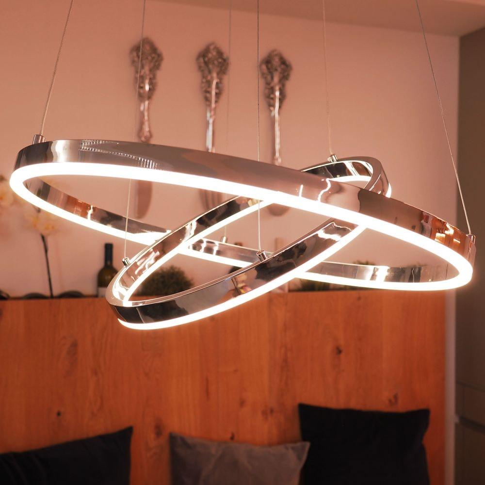 s.LUCE Ring 60 LED-Hängeleuchte 5m Abhängung 7